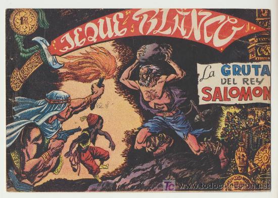 JEQUE BLANCO Nº 12. (Tebeos y Comics - Rollán - Jeque Blanco)