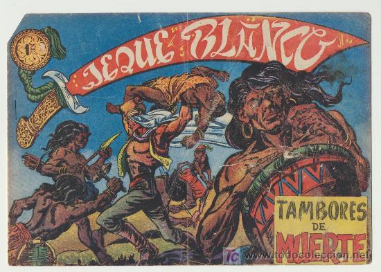 JEQUE BLANCO Nº 11. (Tebeos y Comics - Rollán - Jeque Blanco)