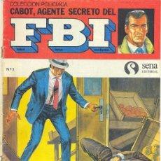Tebeos: CABOT, AGENTE SECRETO DEL FBI Nº 3. Lote 26631975
