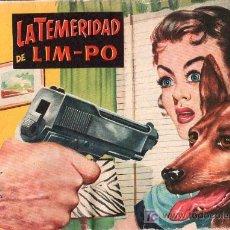 Tebeos: AVENTURAS DEL FBI. LA TEMERIDAD DE LIM-PO. Nº 168.. Lote 17193769