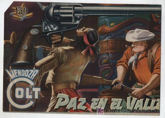 MENDOZA COLT Nº 10. ROLLÁN 1955. (Tebeos y Comics - Rollán - Mendoza Colt)