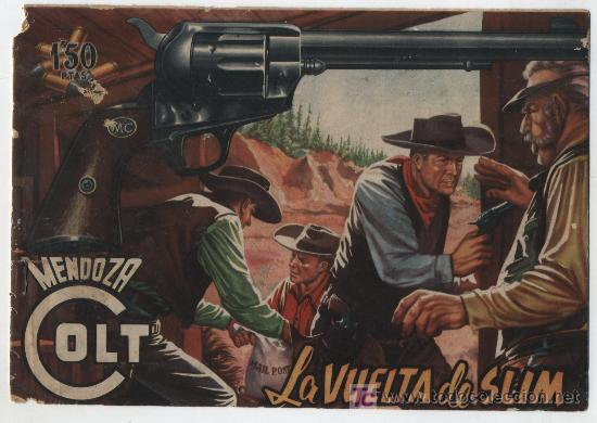 MENDOZA COLT Nº 11. ROLLÁN 1955. (Tebeos y Comics - Rollán - Mendoza Colt)