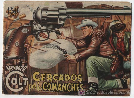MENDOZA COLT Nº 20. ROLLÁN 1955. (Tebeos y Comics - Rollán - Mendoza Colt)