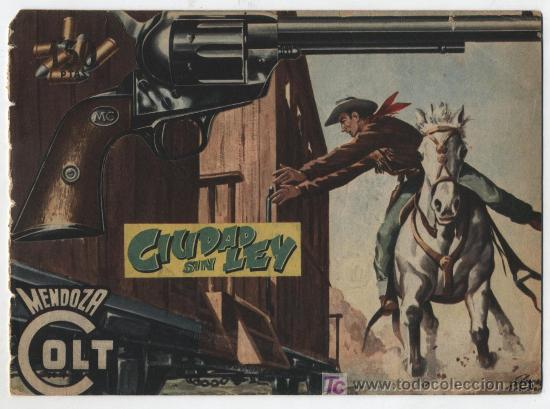 MENDOZA COLT Nº 33. ROLLÁN 1955. (Tebeos y Comics - Rollán - Mendoza Colt)