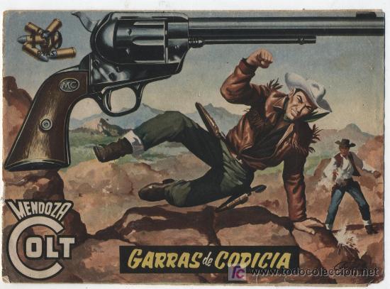 MENDOZA COLT Nº 34. ROLLÁN 1955. (Tebeos y Comics - Rollán - Mendoza Colt)