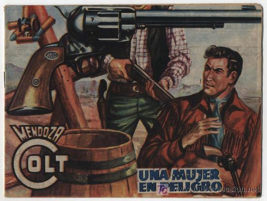 MENDOZA COLT Nº 78. ROLLÁN 1955. (Tebeos y Comics - Rollán - Mendoza Colt)