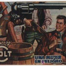 Tebeos: MENDOZA COLT Nº 78. ROLLÁN 1955.. Lote 17385021