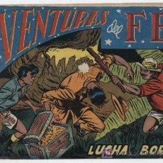 Tebeos: AVENTURAS DEL FBI Nº 16. ROLLÁN 1951.. Lote 17664101