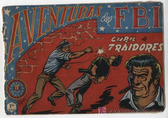AVENTURAS DEL FBI Nº 15. ROLLÁN 1951. (Tebeos y Comics - Rollán - FBI)