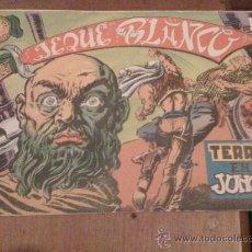 Tebeos: 'JEQUE BLANCO', Nº 3. 'TERROR EN LA JUNGLA'.. Lote 17780489