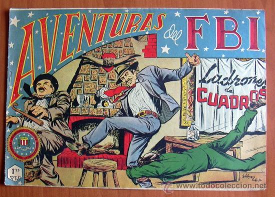 AVENTURAS DEL FBI Nº 159 - EDITORIAL ROLLÁN 1951 (Tebeos y Comics - Rollán - FBI)