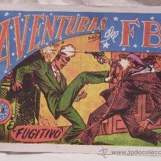 Tebeos: AVENTURAS DEL F.B.I. . Lote 18386091