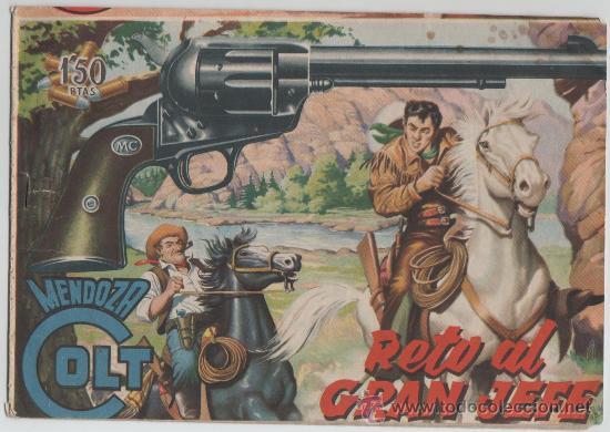 MENDOZA COLT Nº3 ORIGINAL (Tebeos y Comics - Rollán - Mendoza Colt)