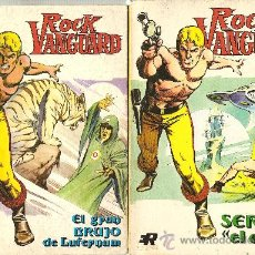 Tebeos: ROCK VANGUARD EDITORIAL ROLLAN TACO TOMOS 1 Y 2. Lote 23554205