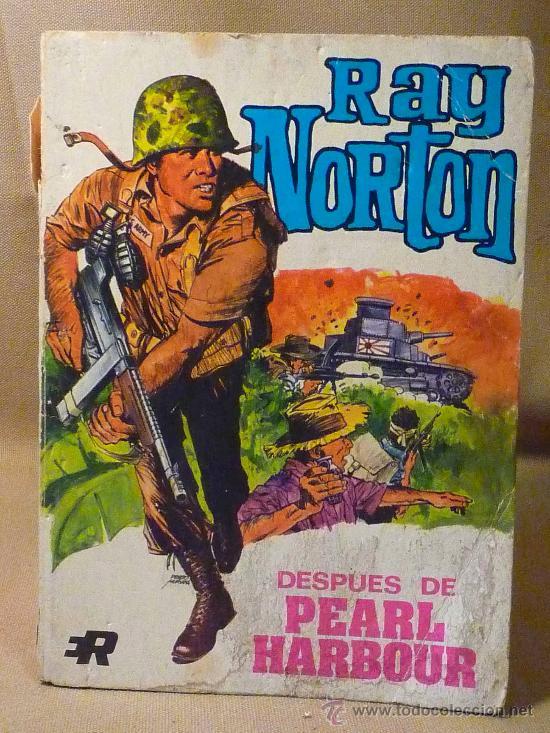 RARO COMIC, RAY NORTON, ROLLAN, 1974, Nº 1 (Tebeos y Comics - Rollán - Otros)