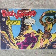 Tebeos: COMIC, ROCK VANGUARD, BARSOFF, EL MALVADO, Nº 21, ROLLAN, ORIGINAL, 1961, UNICO. Lote 22849263