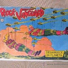 Tebeos: COMIC, ROCK VANGUARD, DESAPARECE UN PLANETA, Nº 24, ROLLAN, ORIGINAL, 1961. Lote 22849310
