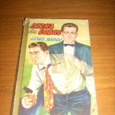 Tebeos: LUCHA DE LOBOS, POR LEWIS HAROC - COLECCIÓN FBI - EDITORIAL ROLLAN - ESPAÑA - 1959. Lote 23487783