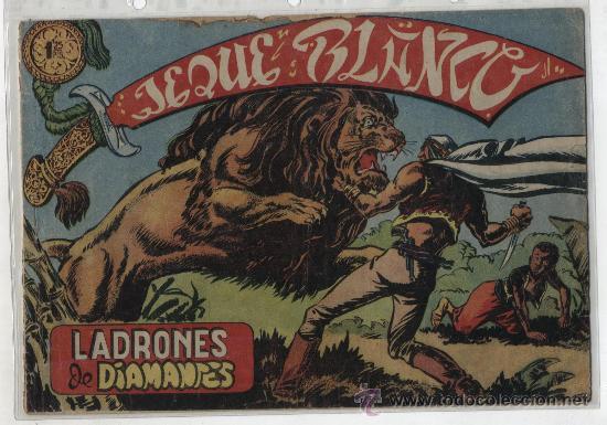 JEQUE BLANCO Nº 4. (Tebeos y Comics - Rollán - Jeque Blanco)