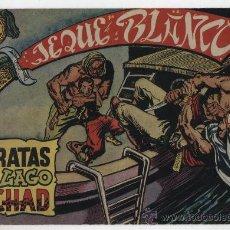 Tebeos: JEQUE BLANCO Nº 5: PIRATAS DEL LAGO TCHAD.. Lote 23839217