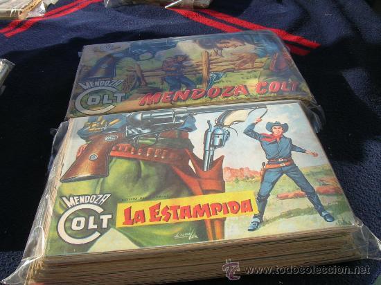MENDOZA COLT ORIGINAL COLECCION COMPLETA EN (Tebeos y Comics - Rollán - Mendoza Colt)