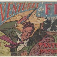 Tebeos: AVENTURAS DEL FBI Nº 1. ROLLÁN 1951.. Lote 24716635