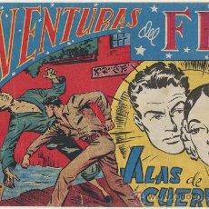 Tebeos: AVENTURAS DEL FBI Nº 41. ROLLÁN 1951.. Lote 24718017