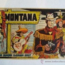Giornalini: MONTANA - LOTE - CASI COMPLETA 21 DE 25 - ROLLÁN 1961. Lote 24734384