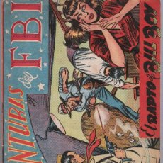 Tebeos: AVENTURAS DEL F B I. Nº 14. EDITORIAL ROLLÁN 1951.. Lote 25028209