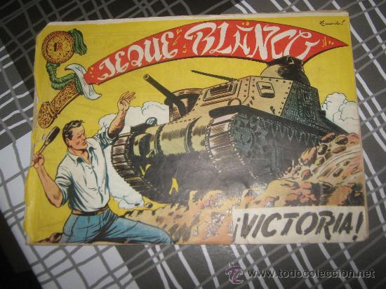 JEQUE BLANCO VICTORIA ,ORIGINAL. (Tebeos y Comics - Rollán - Jeque Blanco)