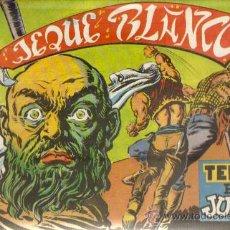 Tebeos: JEQUE BLANCO Nº 3 - ED.ROLLAN 1951 (ORIGINAL). Lote 25253721