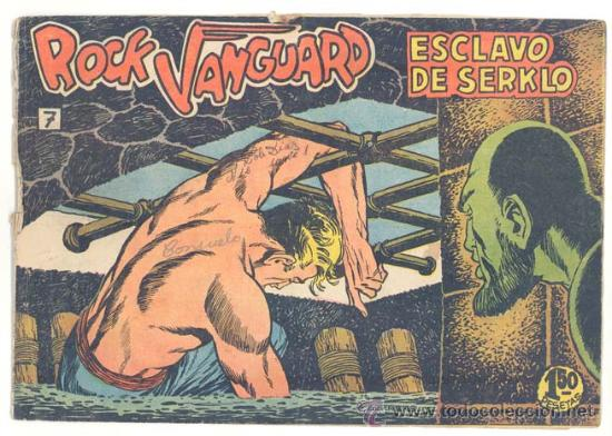 ROCK VANGUARD Nº. 7 , ORIGINAL (Tebeos y Comics - Rollán - Rock Vanguard)