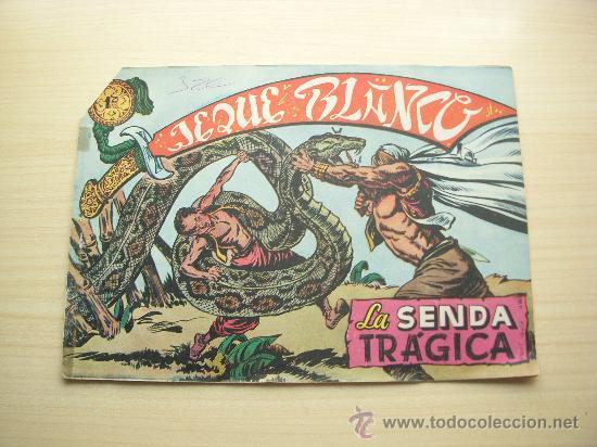 JEQUE BLANCO Nº 9, EDITORIAL ROLLÁN (Tebeos y Comics - Rollán - Jeque Blanco)