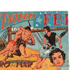 BDs: AVENTURAS DEL FBI Nº 136 DE R0LLAN. Lote 27353323
