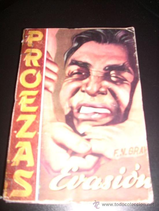 EVASION, POR F. N. GRAW - COLECCIÓN PROEZAS Nº 10 - ROLLAN - ESPAÑA - 1953 - RARO!! (Tebeos y Comics - Rollán - Otros)