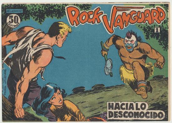 ROCK VANGUARD Nº 1. ROLLÁN 1961. (Tebeos y Comics - Rollán - Rock Vanguard)