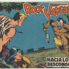 Tebeos: ROCK VANGUARD Nº 1. ROLLÁN 1961.. Lote 28093265