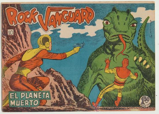 ROCK VANGUARD Nº 10. ROLLÁN 1961. (Tebeos y Comics - Rollán - Rock Vanguard)