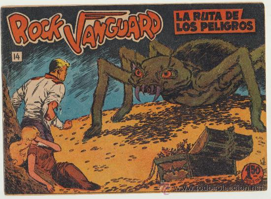 ROCK VANGUARD Nº 14. ROLLÁN 1961. (Tebeos y Comics - Rollán - Rock Vanguard)