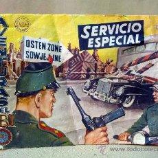 Tebeos: COMIC, AVENTURAS DEL FBI, SERVICIO ESPECIAL, Nº 170, 1957, ORIGINAL, ROLLAN,. Lote 28494433