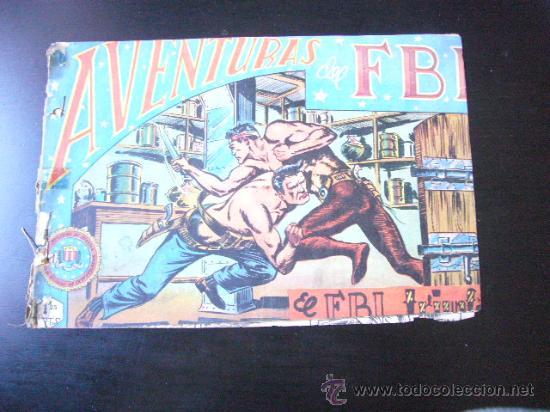 AVENTURAS DEL FBI Nº 13, EDITORIAL ROLLÁN ........C25 (Tebeos y Comics - Rollán - FBI)