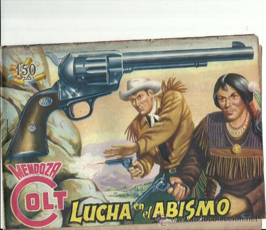 MENDOZA COLT (LOTE DE 7 NUMEROS) (Tebeos y Comics - Rollán - Mendoza Colt)