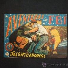BDs: AVENTURAS DEL FBI - Nº 132 - FALSIFICADORES - EDIT. ROLLAN - -. Lote 30285634