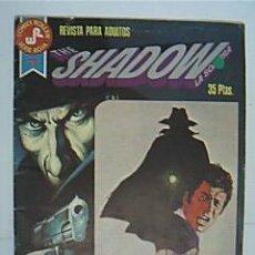 Tebeos: THE SHADOW. LA SOMBRA. COMICS ROLLAN. SERIE ROJA 3. EDITORIAL ROLLÁN. REVISTA PARA ADULTOS. AÑO 1977. Lote 30324587