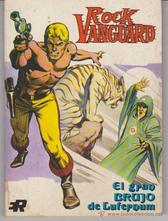 ROCK VANGUARD Nº 2. (TOMO 128 PÁGINAS) ROLLÁN. (Tebeos y Comics - Rollán - Rock Vanguard)