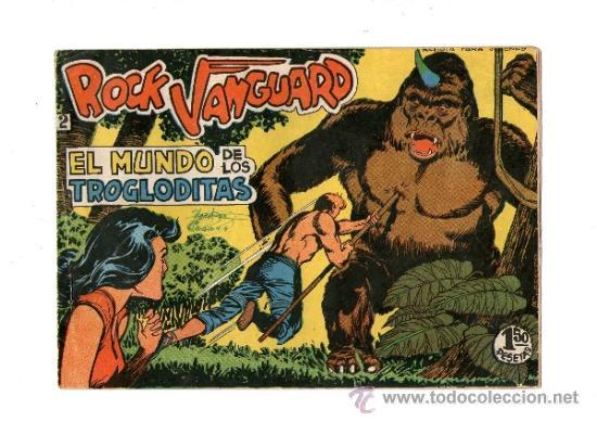 ROCK VANGUARD Nº 2 (Tebeos y Comics - Rollán - Rock Vanguard)