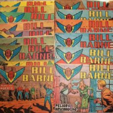 Tebeos: BILL BARNES (ROLLAN) 15 EJ DEL 1 AL 14 Y 16 (LOTE). Lote 32685248