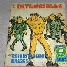 Tebeos: LOS INVENCIBLES NºS 2 Y 5 SERIE AZUL NºS 4 Y 7. ED. ROLLÁN. 1973. MUY DIFÍCILES!!!!!!!!!!!!!!!. Lote 33049838