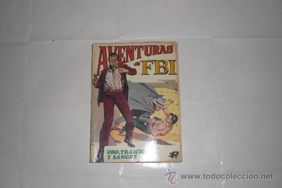 AVENTURAS DEL FBI Nº 6 EDITORIAL ROLLAN 1974 (Tebeos y Comics - Rollán - FBI)