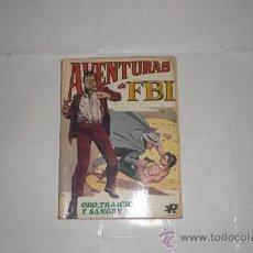 Tebeos: AVENTURAS DEL FBI Nº 6 EDITORIAL ROLLAN 1974. Lote 33566007